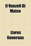 Il Vanzeli Di Mateo