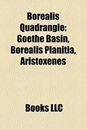 Borealis Quadrangle: Goethe Basin, Borealis Planitia, Aristoxenes
