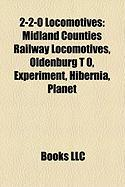 2-2-0 Locomotives: Midland Counties Railway Locomotives