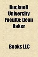 Bucknell University Faculty: Dean Baker