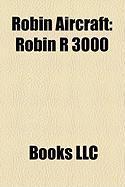 Robin Aircraft: Robin R 3000