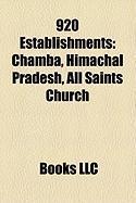 920 Establishments: Chamba, Himachal Pradesh