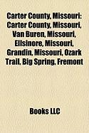 Carter County, Missouri: Southern Illinois University Carbondale
