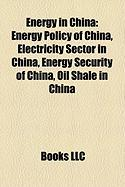 Energy in China: Energy Policy of China