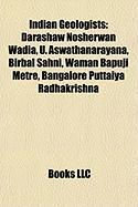 Indian Geologists: Darashaw Nosherwan Wadia
