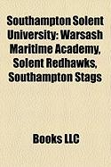 Southampton Solent University: Warsash Maritime Academy, Solent Redhawks, Southampton Stags