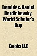 Demidec: Daniel Berdichevsky, World Scholar's Cup