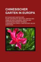 Chinesischer Garten in Europa