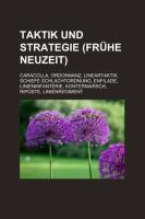 Taktik Und Strategie (Frühe Neuzeit)