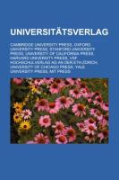 Universitätsverlag