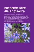 Bürgermeister (Halle (Saale))