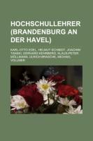 Hochschullehrer (Brandenburg an Der Havel)