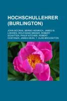 Hochschullehrer (Burlington)