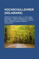 Hochschullehrer (Delaware)