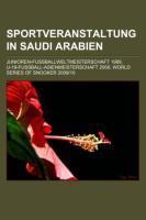 Sportveranstaltung in Saudi-Arabien