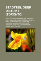 Stadtteil Oder Distrikt (Toronto)