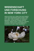 Wissenschaft Und Forschung in New York City