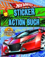 Hotwheels Sticker Action Buch
