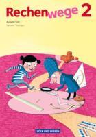 2. Schuljahr - Schlerbuch mit Kartonbeilagen: Schülerbuch mit Kartonbeilagen (Rechenwege: Süd - Aktuelle Ausgabe)