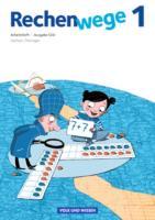 Rechenwege - Süd - Aktuelle Ausgabe - 1. Schuljahr