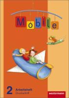 Mobile Sprachbuch - Allgemeine Ausgabe 2010: Arbeitsheft 2 DS