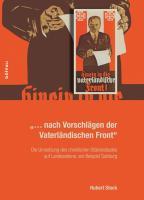 »... nach Vorschlägen der Vaterländischen Front«