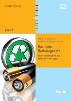 Das neue Batteriegesetz