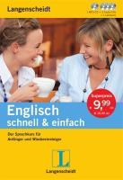 Langenscheidt Englisch schnell & einfach - Set aus Buch, 3 Audio-CDs und 1 MP3-CD: Der Sprachkurs für Anfänger und Wiedereinsteiger (Langenscheidt schnell & einfach)