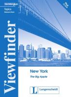 Viewfinder Topics. New York. Resource Book mit CD-ROM