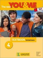 The new YOU & ME 4 Enriched Course Textbook: Englisch Lehrwerk für Österreich - 8. Schulstufe