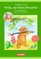 Sprachförderung mit Wolle: Wolle, der kleine Braunbär: Ein Mitmachbuch