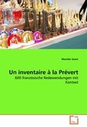 Un inventaire à la Prévert