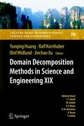 Domain Decomposition Methods in Science and Engineering XIX