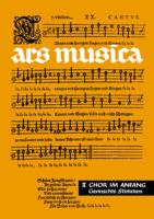 ars musica 2: Chor im Anfang. Leichte Chorsätze für gemischte Stimmen. Ein Musikwerk für höhere Schulen