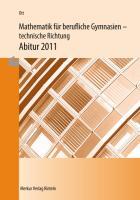 Mathematik für berufliche Gymnasien / Mathematik für berufliche Gymnasien - Abitur 2020 - Ausgabe Baden-Württemberg