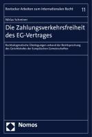 Die Zahlungsverkehrsfreiheit des EG-Vertrages