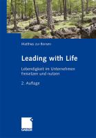 Leading with Life