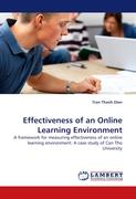 Effectiveness of an Online Learning Environment