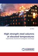 High strength steel columns at elevated temperatures