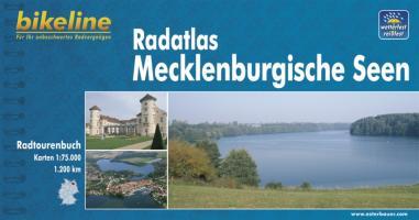 bikeline Radtourenbuch, Radatlas Mecklenburgische Seen, wetterfest/reißfest