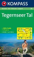 Tegernseer Tal: Wandern / Rad / Skitouren / Langlauf. GPS-genau. 1:25.000