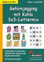 Gehirnjogging mit Kohls 3x3-Lettermix
