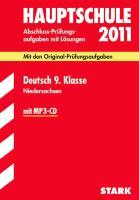 Abschlußprüfung 2011 Deutsch 9. Klasse. Hauptschule Niedersachsen