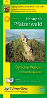 Naturpark Pfälzerwald Blatt 8 Östlicher Wasgau mit Bad Bergzabern 1 : 25 000: Topographische Karte mit Wander- und Radwanderwegen. UTM-Koordinatengitter für GPS-Nutzer