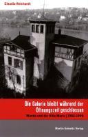 Reichardt, C: Galerie bleibt während der Öffnungszeit