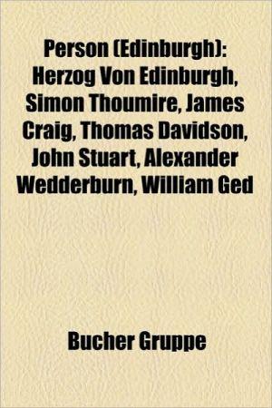 Person (Edinburgh) - B Cher Gruppe (Editor)